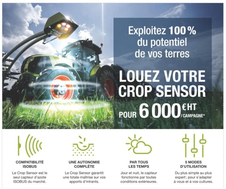 Crop sensor reca
